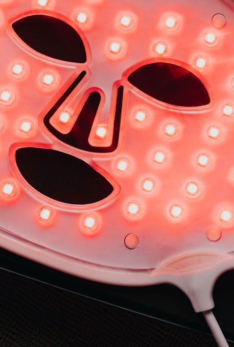 Anti-Aging red and near infra-red light therapy